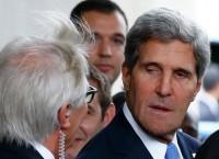 Госсекретарь США Джон Керри перед переговорами с главой МИД РФ Сергеем Лавровым. Фото с места события