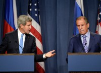 Встреча Сергея Лаврова и Джона Керри по Сирии, архивная фотография