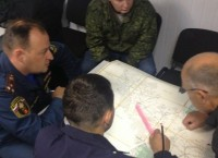 Поиски пропавшего вертолета в Тверской области. Фото с места события