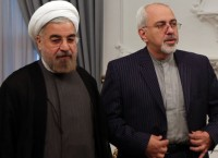 Президент Ирана Хасан Роухани и глава МИД страны Мохаммад Джавад Зариф, архивное фото