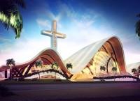 Basilica In Cancun: церковь нового поколения от испанских архитекторов