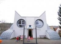 Cat Shaped School: школа-кот от немецких архитекторов