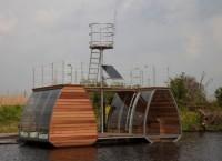 Catamaran Ecolodge: плавающее жилище в Нидерландах