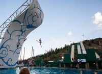 Водное скалолазание Psicobloc: новый вид спорта в США