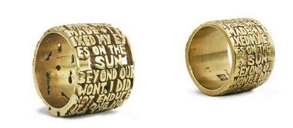 Литературные кольца в честь Данте Алигьери