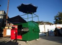 Dumpster Diving: крошечный дом из мусорного контейнера в Бруклине