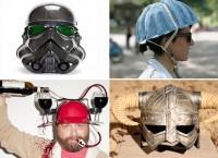 обзор необычных мотоциклетных шлемов
