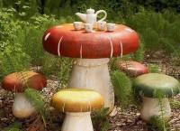 Сказочная мебель для современного фантастического сада