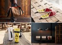 Мебель и аксессуары из использованных пожарных рукавов