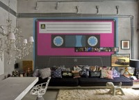 Креативные настенные фрески в пастельных тонах от PIXERS