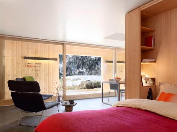 Arsenal B47: современное жилище в швейцарском армейском домике времен Второй мировой войны