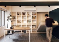 Маленькая квартира с трансформирующимися функциями в Тайване
