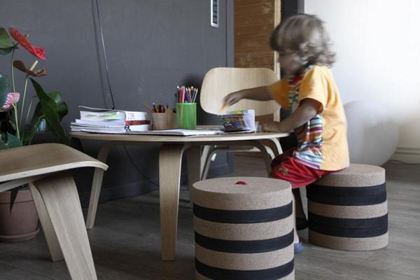 стул, который растет вместе с ребенком