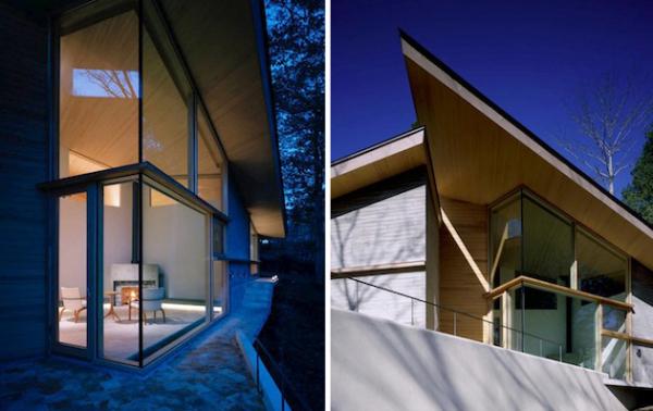Villa on the Wing: «крылатая» семейная резиденция от Milligram Studio