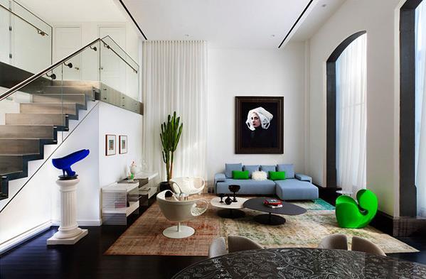Гостиная от дизайнера Robert Granoff