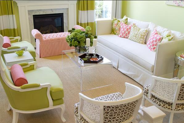Гостиная от студии Alisha Gwen Interior Design
