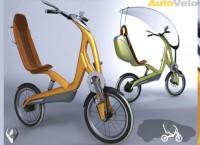 Велосипед AutoVelo с электродвигателем