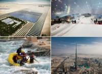 Самые необычные и масштабные сооружения, построенные в пустыне