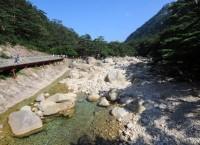 Туристическая зона Кымгансан на восточном побережье Северной Кореи