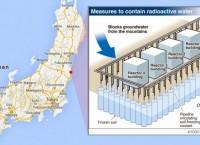 Гигантская ледяная стена вокруг Фукусимы