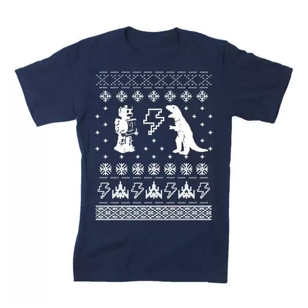 Geeky Christmas T-Shirts - забавная футболка от Happy Family