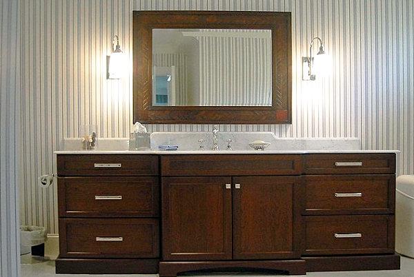 Элегантная мужская ванная комната