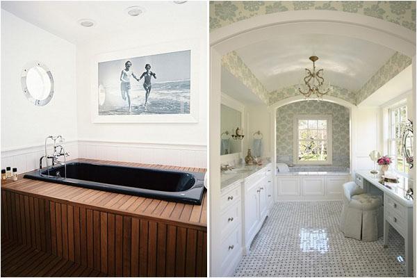 ТОП-10 ванных комнат: мужской и женский водный мир