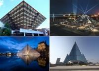 Самые необычные современные пирамиды