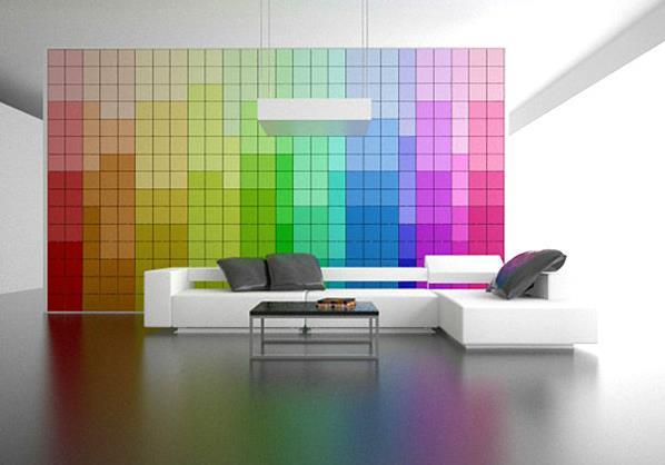 Пиксельная стена Amirko