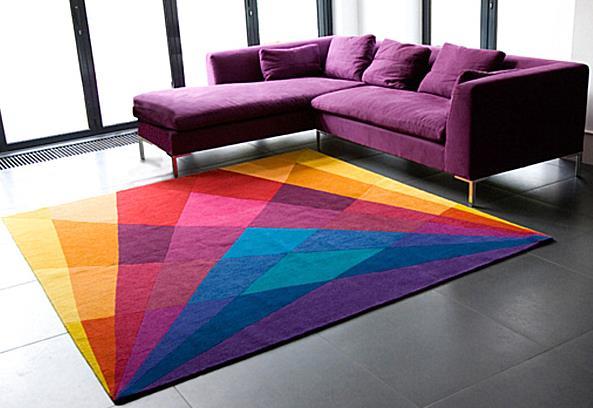 Радужный ковёр от Сони Виннер