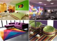 Домашняя радуга: ТОП-10 разноцветных идей домашнего декора
