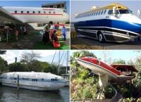 ТОП-10 оригинальных идей по переоборудованию самолётов