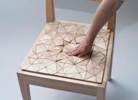 """Экологичные стулья """"Squishy"""" – жесткие с виду, но мягкие на ощупь"""