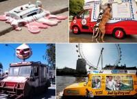 Всемирно известные фургоны с мороженым