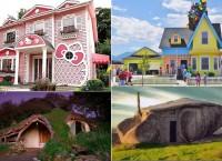 Дома, построенные по мотивам известных мультфильмов