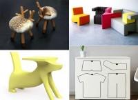 Яркая и забавная детская мебель от современных дизайнеров