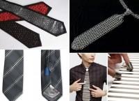 Дизайнерские галстуки, призванные облегчить жизнь офисных работников