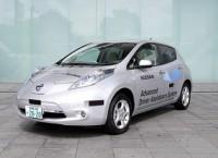 Автомобиль-робот Nissan Leaf