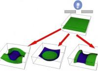 Изменение структуры адаптивного материала