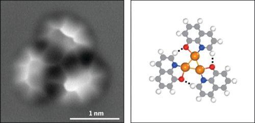 Снимок молекулы