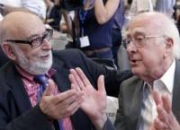 Питер Хиггс и Франсуа Энгле
