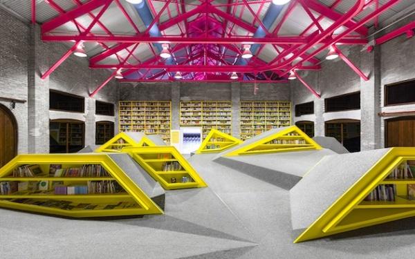 Ninos Conarte: креативная детская библиотека в Мексике