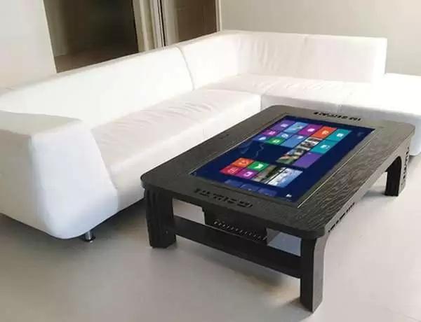 Coffee Table Touchscreen - кофейный столик с двойным дном Hammacher Schlemmer